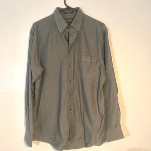 Men's button down shirt.